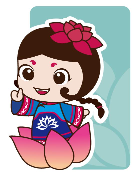 漂流世界杯吉祥物(河灯仙子)