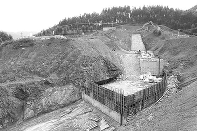 宾阳:清平水库补水工程建设进入收官阶段