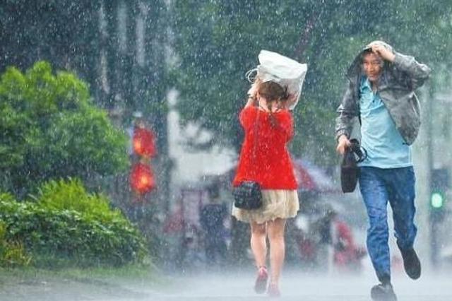 强降雨天气逐渐退出广西 全区大部多阵雨或雷雨