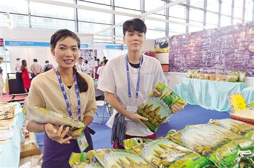 柬埔寨大米物美价廉
