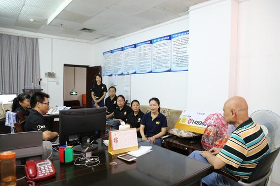 e互助广西志愿者互助献爱心 爱心平台吸引更多热心市民加入