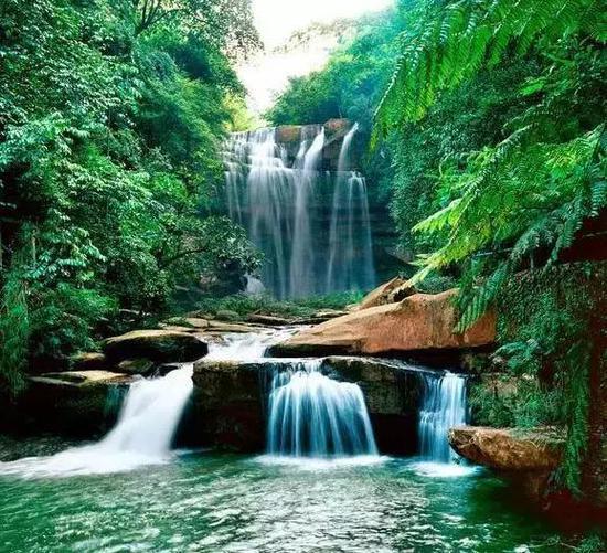 广西境内瀑布大盘点!热了闷了就去广西看瀑布吧