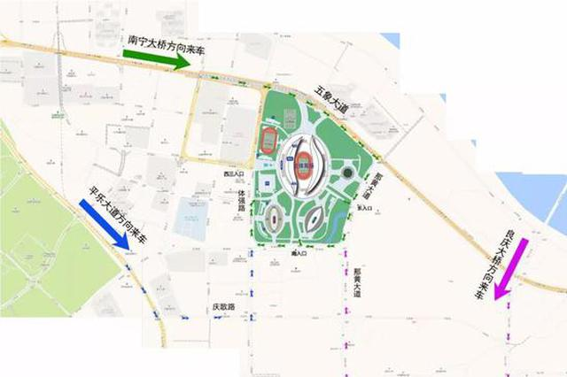 """自驾去看""""中国杯""""最全出行宝典!停车区域都标好了"""