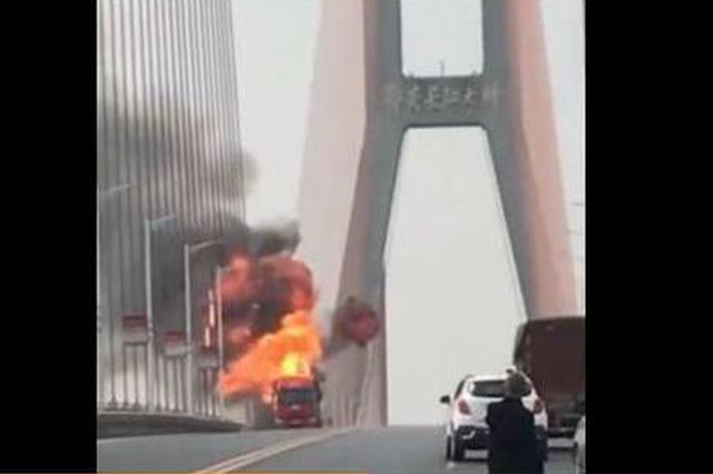 桂林朋友圈疯传南洲大桥一货车爆炸?又是谣言