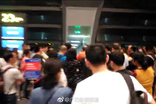 南宁:受不良天气影响 国航一航班延误超19小时