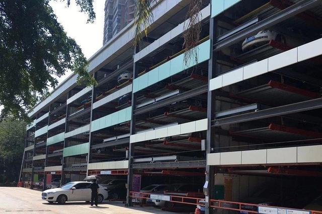 梧州市最大立体停车楼即将试运行 收费标准获批复
