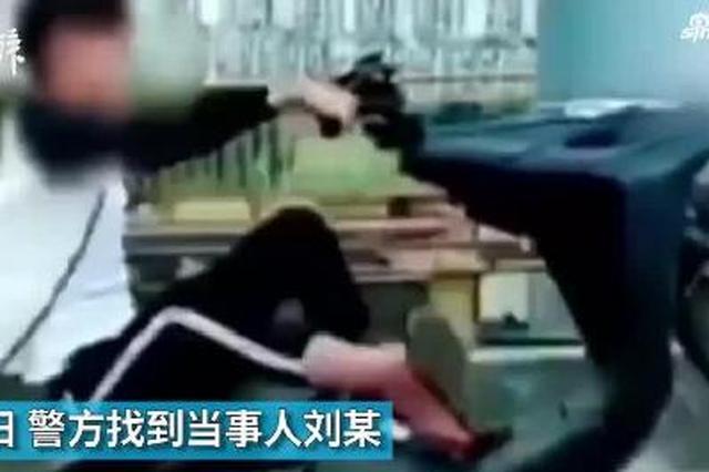 """学快手视频 广西16岁少年在大桥上花式""""炫车技"""""""