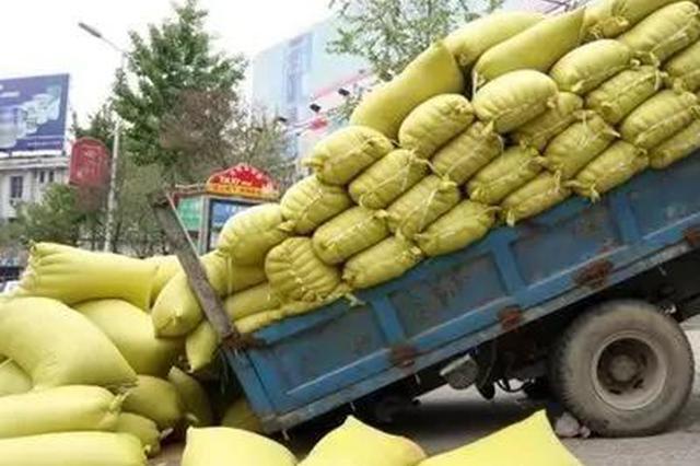 大胆!超载120%还敢上路 这辆货车被南宁交警抓住