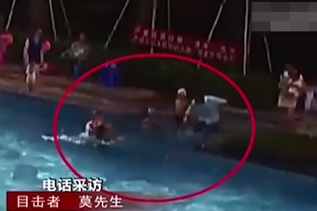 点赞!两儿童泳池溺水 南宁一退休护士2分钟救回