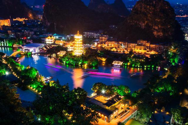 两江四湖夜景