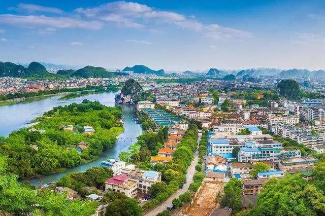 桂林成三四线城市十强 中国新商业城市研究报告发布
