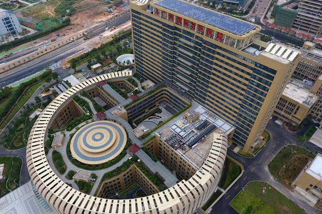 广西国际壮医医院开业 五象新区第一个三甲公立医院