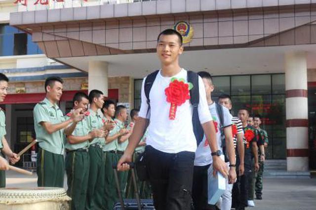 桂林消防史最后一批秋季退伍老兵 退伍不褪色