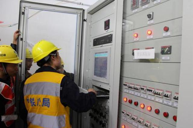 """南宁地铁3号线全线实现""""电通"""" 冲刺全线""""热滑"""""""