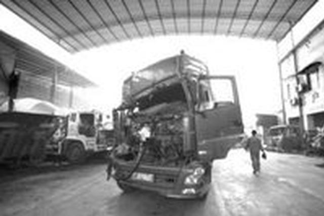 马山:车主聘请无资质修理工修车 对方殒命车底