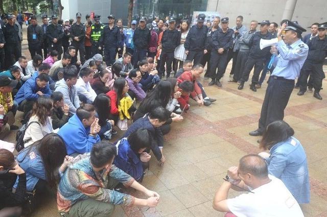 45传销人员在南宁被查获!还有人声称是来做生意的