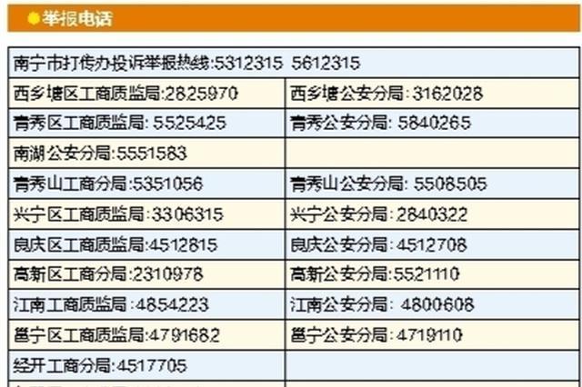 《南宁市举报传销奖励办法》实施 最高可获奖5000元