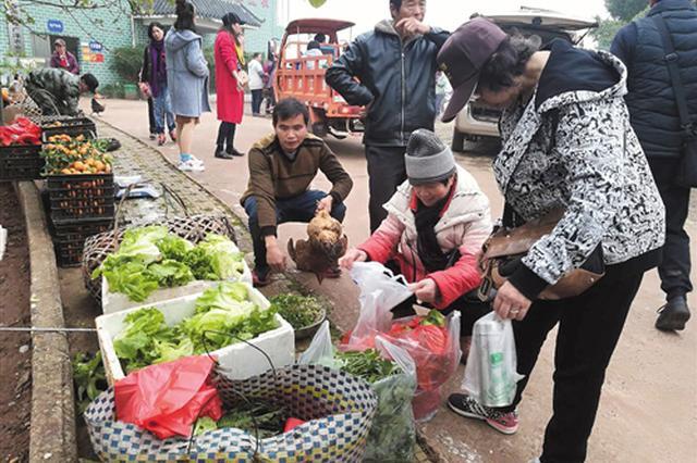 南宁第一书记爱心集市 多种农产品随心购