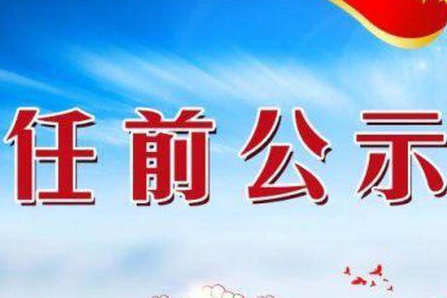 广西桂林一名厅级领导干部任前公示|简历