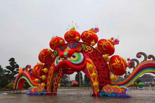 邕宁元宵灯光艺术节将启幕 园博园首次开放夜间景观