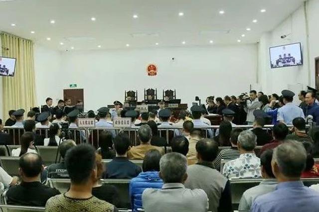 最高刑期25年!钦州叶富林等31人涉黑案公开宣判