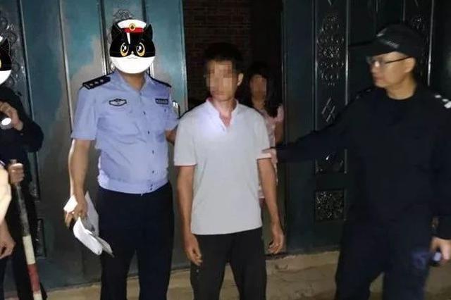 """灵山警方打掉一股敲诈勒索""""地租费""""的农村恶势力"""