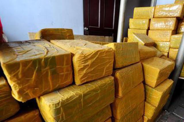警方破获贩卖毒品大麻案 缴毒1691.18公斤