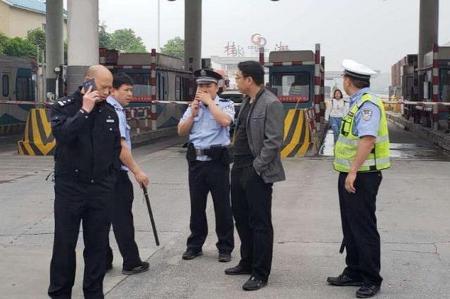 缉查布控显威 外地跨省流窜车辆在桂林落网
