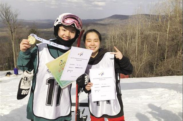 广西冬季项目运动员角逐全国赛场夺金牌
