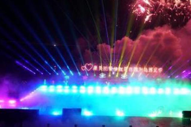 广西涠洲岛首创海景焰火剧 助力国际度假岛建设