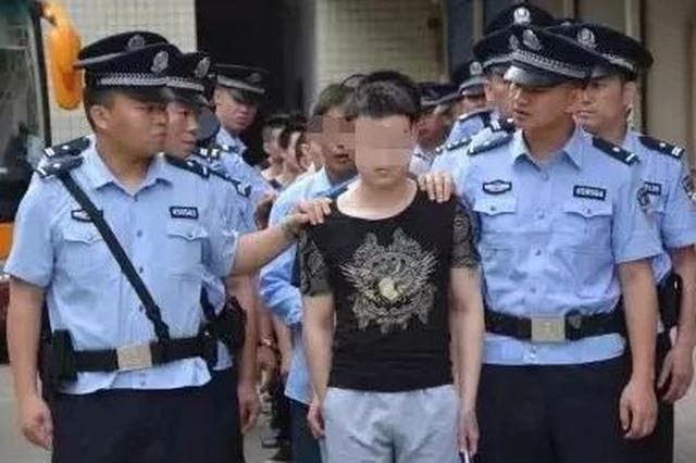聚众斗殴持械杀人 河池一恶势力集团22人受审