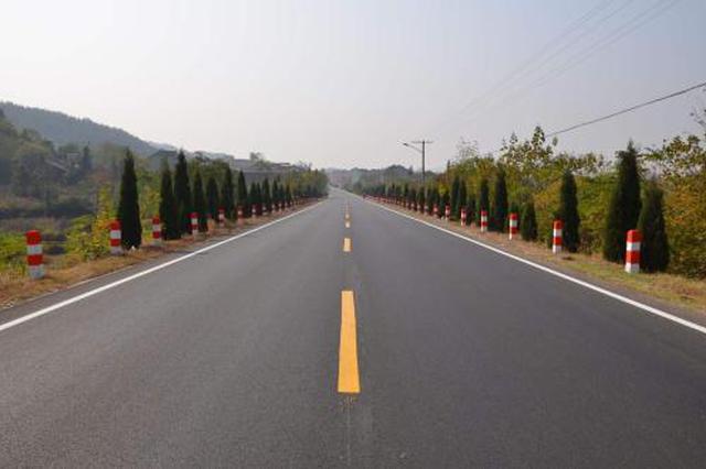 邕宁区蒲百二级公路开建 全长37公里设计时速80公里