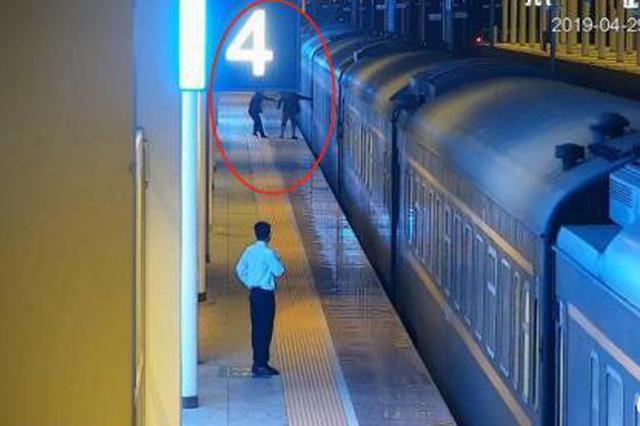 一男子强登扒乘列车致列车紧急刹停被拘留十天