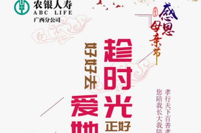 农银人寿广西分公司开展2019年母亲节品牌宣传活动