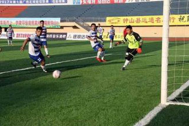 广西足球桂超联赛拉开新赛季战幕 8支队伍参赛