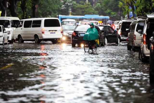未来十日广西上演强降雨车轮战 三轮强降雨无缝衔接