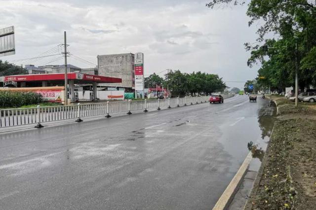 贵港金港大道东延段为什么逢雨必涝?来看部门怎么说