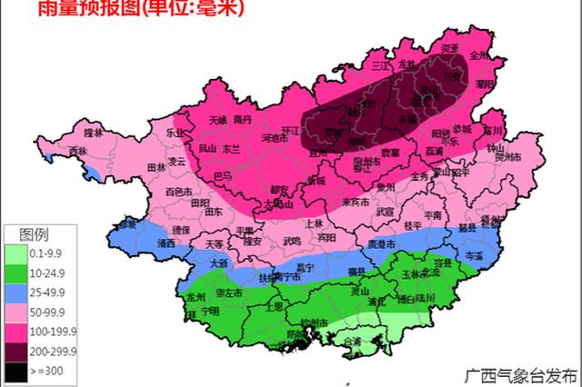 又是雨!7月12日至14日桂北将再次出现强降雨