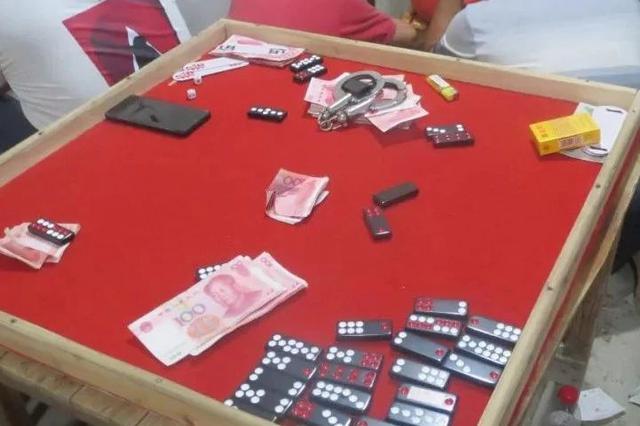 桂林一野外赌场被瓦解 警方抓获涉案人员19人