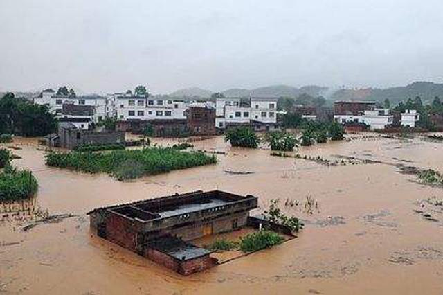 """广西:""""孤岛""""不孤 洪灾过后一场爬山涉水的救援"""
