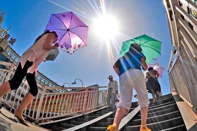 桑拿天来袭!广西拉响高温蓝色预警 最高温35-36℃