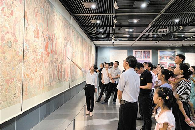 毗卢寺壁画摹本展在南宁开展 探寻古老文化密码