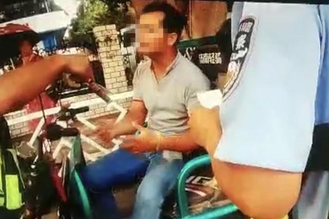 凉凉!南宁一男子阻碍执法还抓伤交警,被行政拘留6日