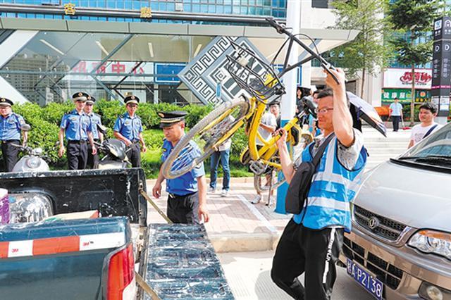 南宁高新区城管与哈啰出行联合举办换岗体验活动