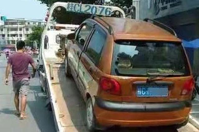 """兴安最""""牛""""司机无证驾驶报废车!还有33条交通违法"""