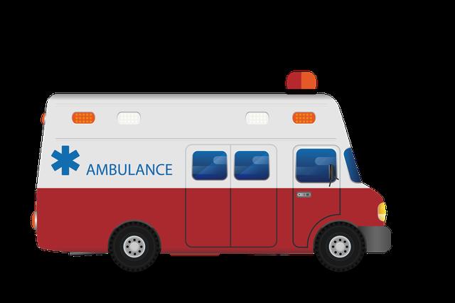 考验!接病患途中前方出车祸 救护车先救伤者