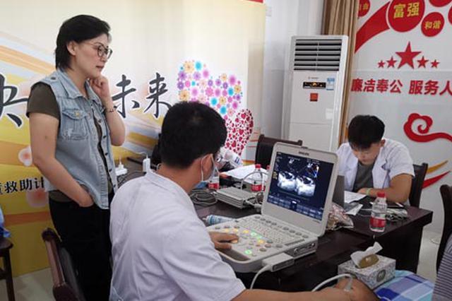 """中国移动爱""""心""""行动为广西贫困先心病儿童带来新希望"""