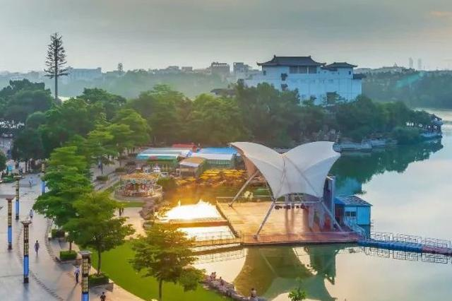 官方公示贵港市东湖片区综合控制性规划 即将大变样