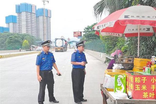 """南宁全力整治城市主要出入口""""容貌"""""""