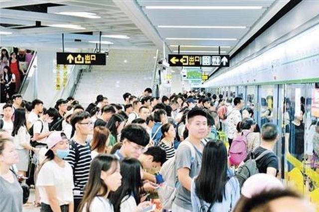 2018年南宁地铁客运量达2.14亿人次 交通运营良好